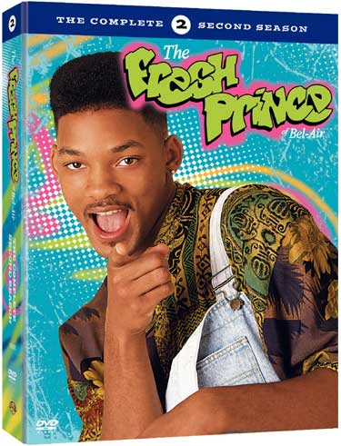 Fresh Prince of Bel Air: The complete Second Season DVD Artwork