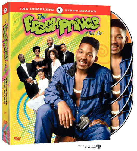 Fresh Prince of Bel Air: The complete first season: Box Art