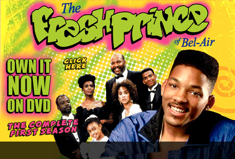 Fresh Prince of Bel Air on DVD Promotion